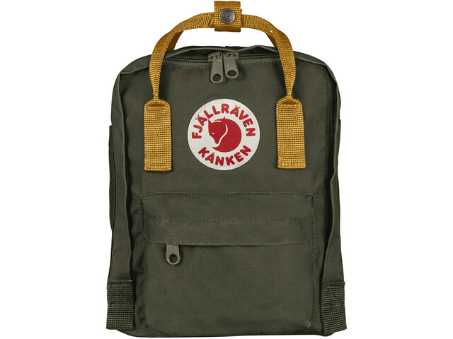 Fjällräven Kånken Mini Backpack Kids deep forest-acorn